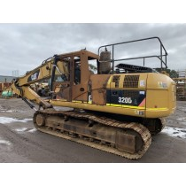 CAT 320DL S/NO. KGF01469 DISMANTLING